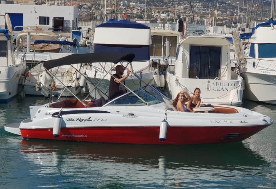 24 ft Sea Ray Sundeck R210 Sport Speedboat
